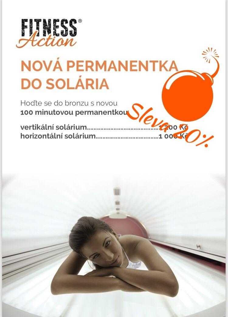 -20% na permanentky do solária
